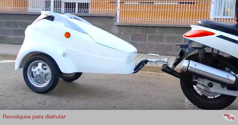 La polémica Ley de homologación de los remolques para motos