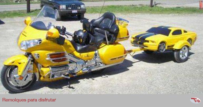 remolque para moto goldwing
