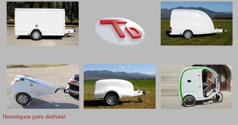 Los cinco modelos de remolque más útiles del mercado